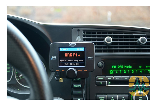 Radio DAB+ installation Garage Marenghi